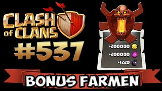 CHAMPION BONUS FARMEN OP! ★ CLASH OF CLANS #537 ★ Let's Play COC ★ GERMAN DEUTSCH HD ★