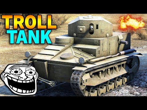 TROLL TANK - KW-2 Pierwszego Tieru - World of Tanks