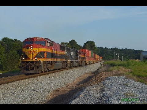 HD: Railfanning Norfolk Southern Birmingham East District 8/25/2017