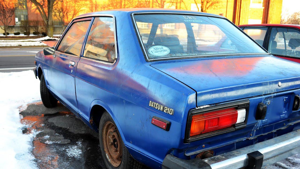 1980 datsun 210 two door sedan a14 rivergate 5 speed youtube