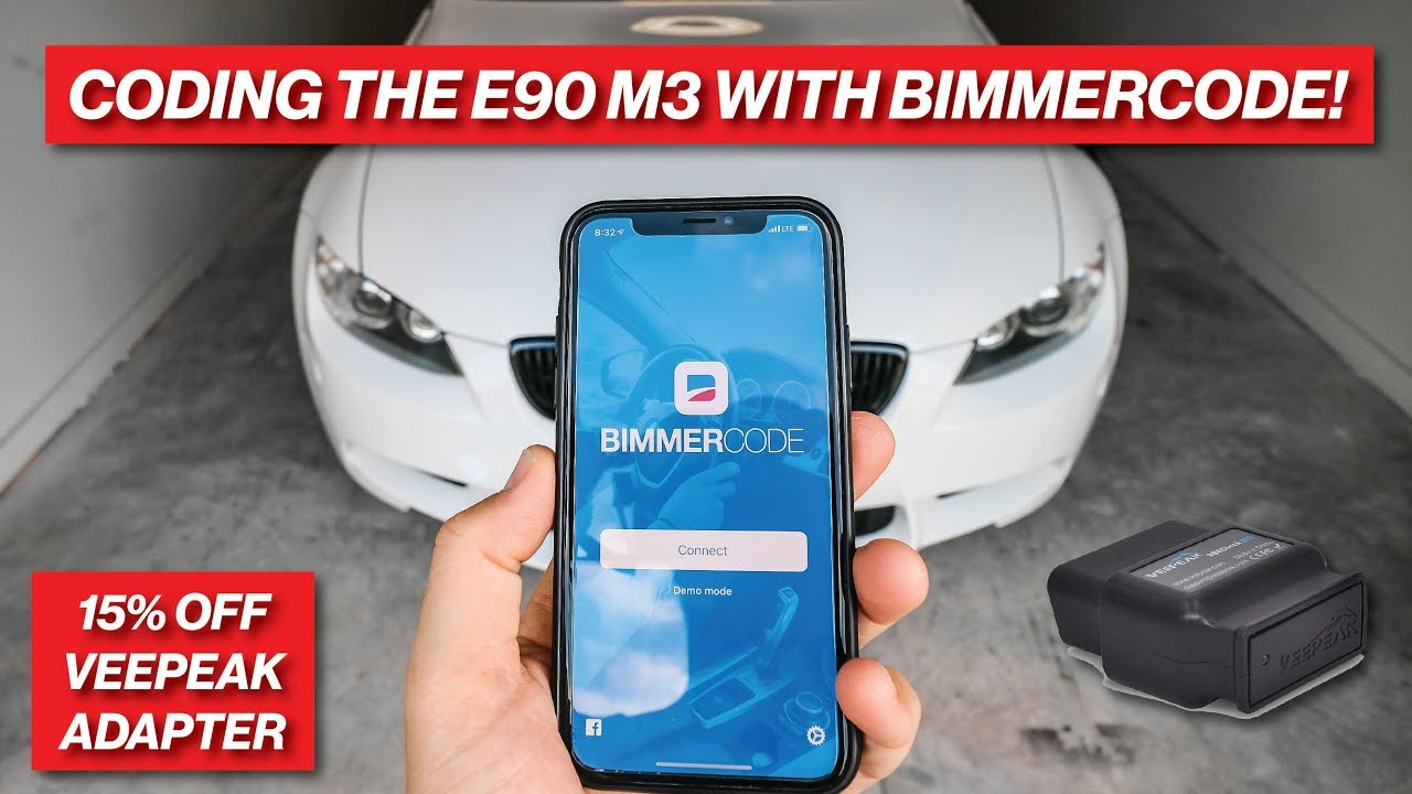 USING BIMMERCODE TO CODE FEATURES ON MY E90 M3!