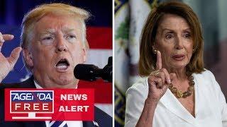 Trump Cancels Pelosi\'s Overseas Trip - LIVE COVERAGE