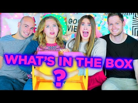 WHAT'S IN THE BOX CHALLENGE AVEC NOS COPAINS! | 2e peau