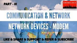 COMMUNICATION & NETWORK - NETWORK DEVICES - MODEM