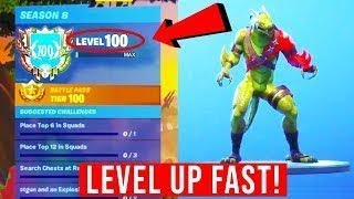 How to Get 20k+ XP Per Hour in Fortnite Battle Royale Season 8
