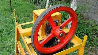 Wood Chipper I RPM Change
