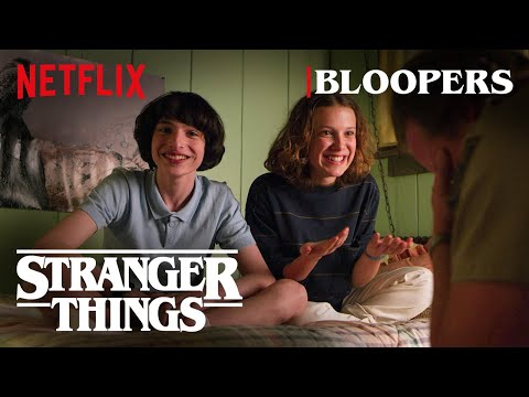 Woody and Jim - Stranger Things Released Their Bloopers