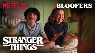 Stranger Things Season 3 Bloopers | Netflix
