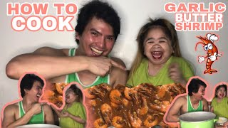 How to cook Garlic Buttered Shrimp | Mygz Molino | MAHAL