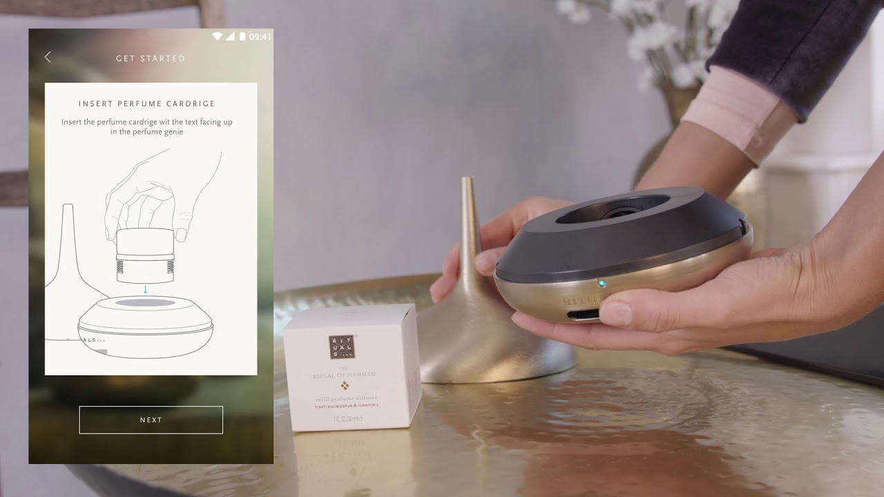 Introducing The Rituals Perfume Genie For Android Youtube