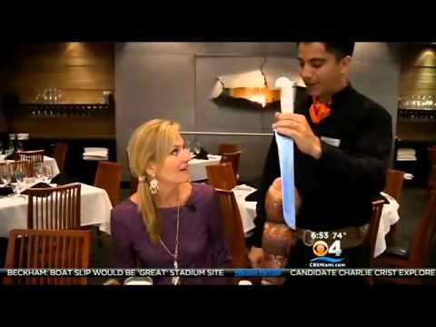 Chima Brazilian Steakhouse in Fort Lauderdale on CBS Taste of the Town