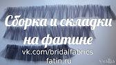 Подъюбник для платья из мягкого фатина в стиле ^американки^. - YouTube