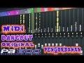 Korg PA 600 MIDI DANGDUT ORIGINAL PENGORBANAN