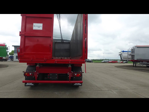 New 2017 SDC Draycott bulk steel tipping trailer