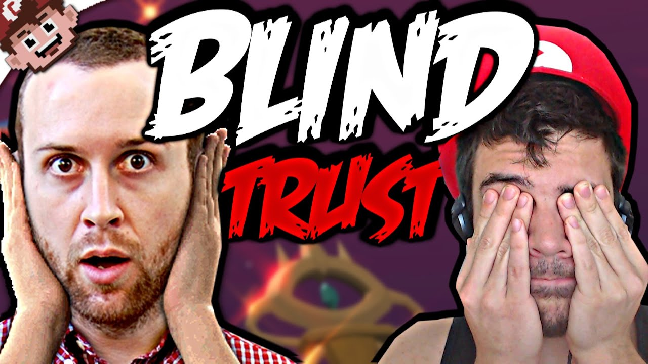 TROLLING the BLIND? (BLIND TRUST | Chilled and Nanners)