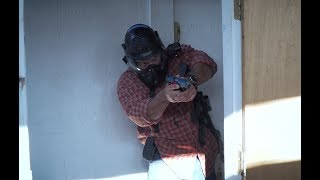 One Man vs. Four Armed Intruders