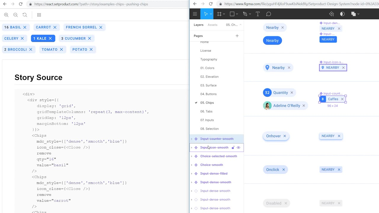 Figma, React & Angular design system - All-in-one toolkit for your  development mission