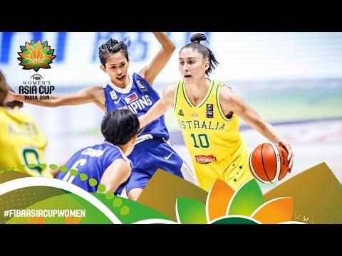 Australia V Philippines - Full Game - FIBA Women's Asia Cup 2019