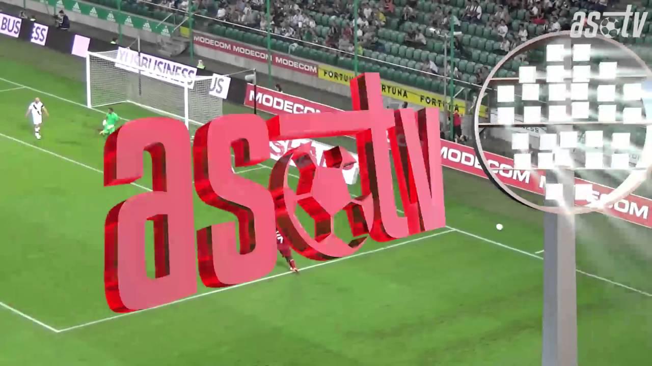 d90d11a408 Zostrih z odvetného stretnutia 3. predkola Ligy Majstrov Legia Varšava - AS  Trenčín 0 0