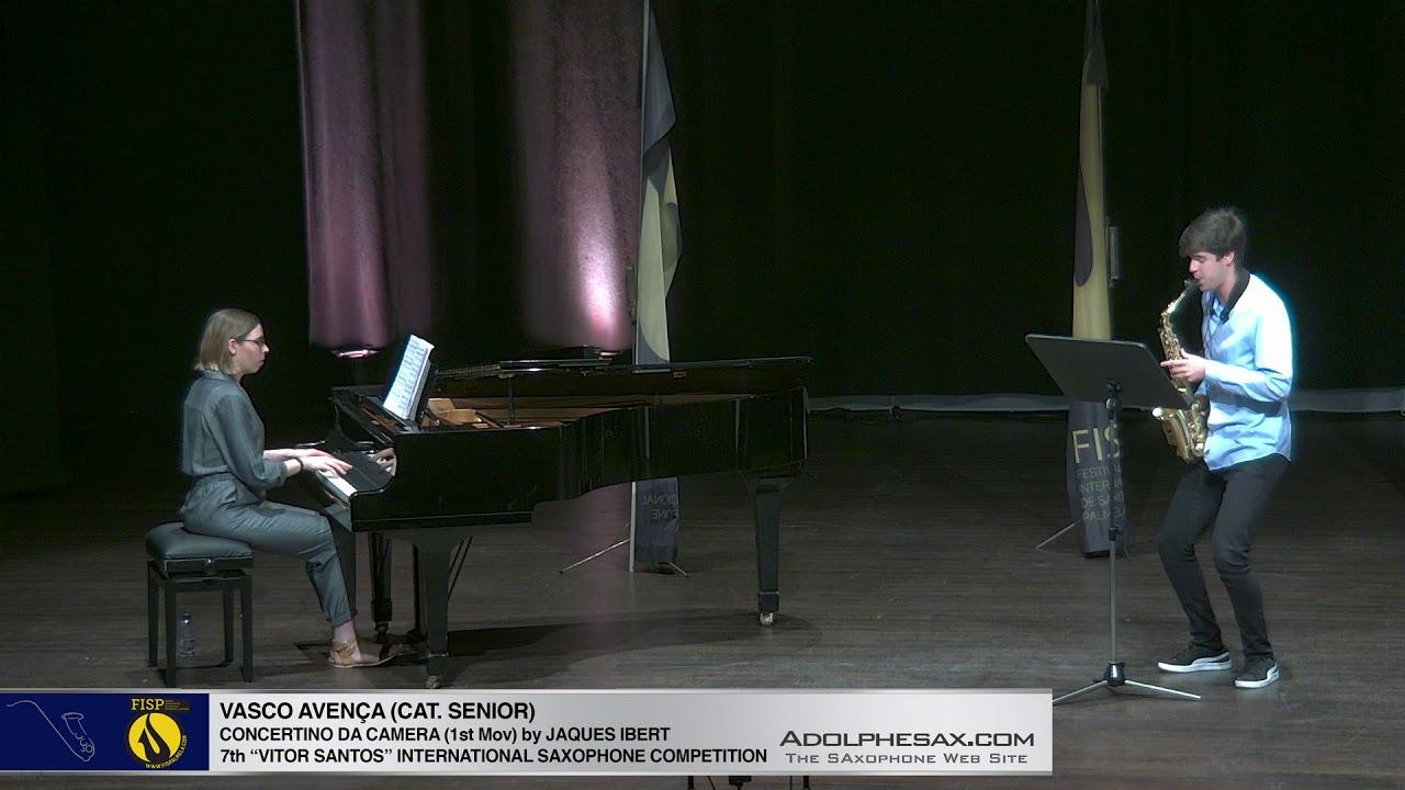 FIS Palmela 2019   Vasco Avença   Concertino da Camera by Jaques Ibert 1st Mov