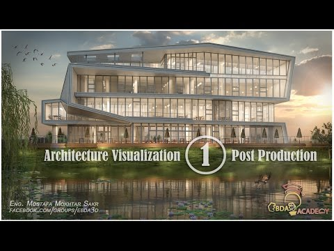 Photoshop Post Production architecture (01)