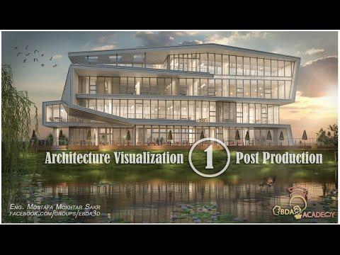 Photoshop Post Production architecture (01)