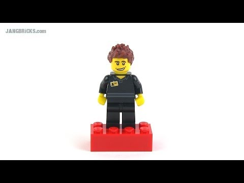 Official LEGO Store Employee promo minifig October 2013! - YouTube
