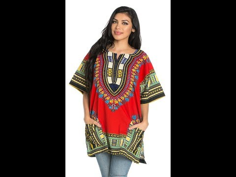 Dashiki Unisex African Fashion Trending Video Show