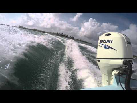 Ft. Pierce Inlet Boating in 4K | Bluewater 2150 Center Console