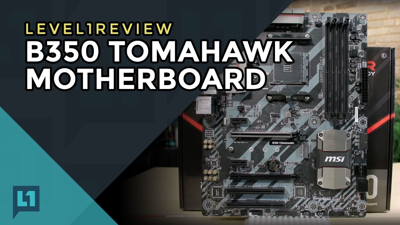 MSI B350 Tomahawk Review & Linux Test