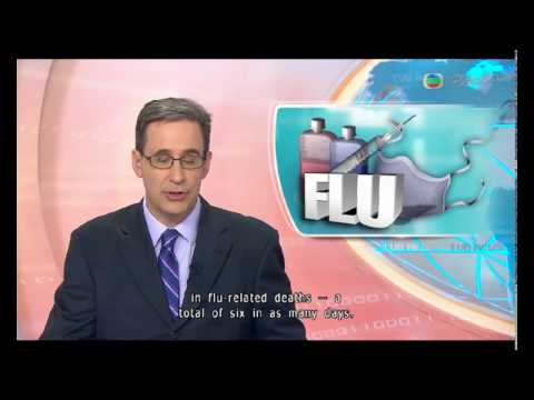 Tv news(2/3/2017) : a spike in flu-related deaths