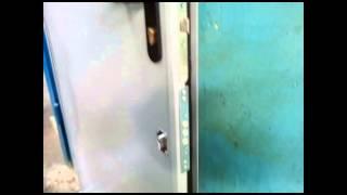видео Противопожарные однопольные двери