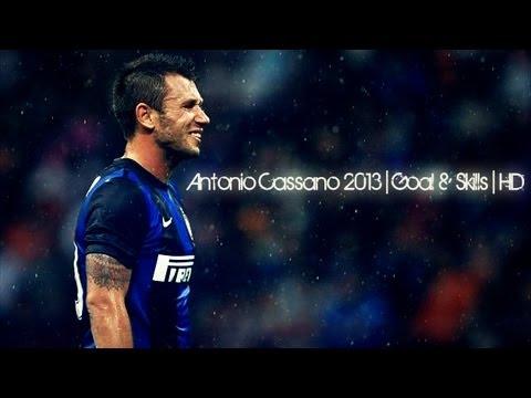 Antonio Cassano 2013   Goal & Skills   HD