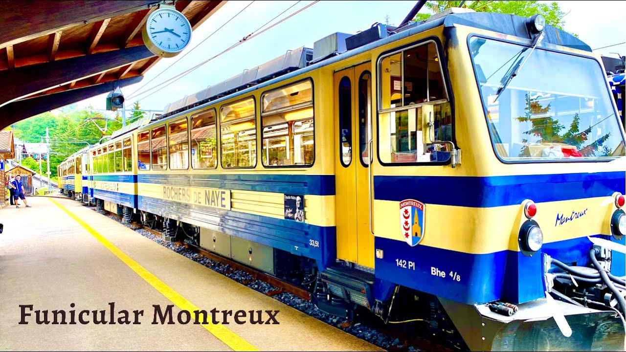 The cog Railway Montreux - Rochers-de-Naye - Switzerland 🇨🇭
