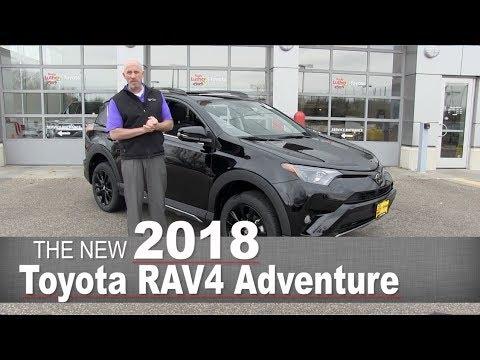 New 2018 Toyota RAV4 Adventure | Mpls, Golden Valley, Burnsville, Bloomington, MN | Walk Around