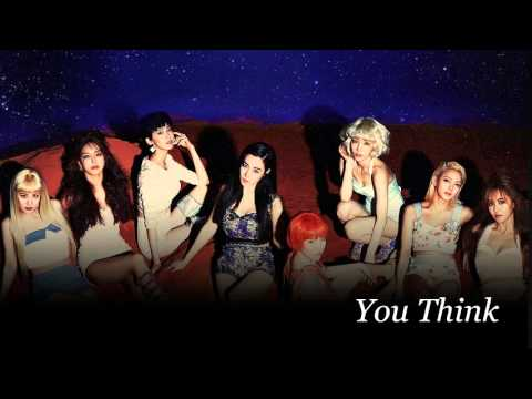 [OFFICIAL AUDIO] SNSD The 5th Album ''You Think' -You Think