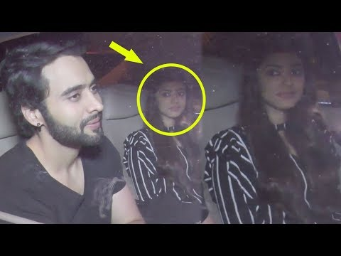 Jackky Bhagnani Spotted After Dinner Date With Girlfriend