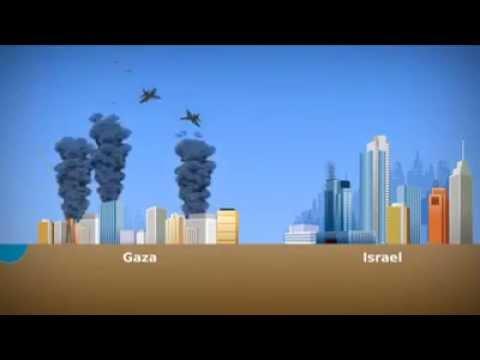 Gaza -- Israel conflict scenario