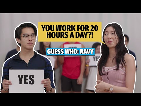 Guess Who: Who Is From The Navy? [New TSL Facebook Series]
