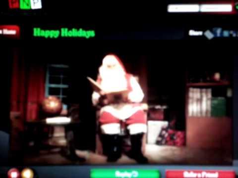 Jamie's Personalised message from Santa
