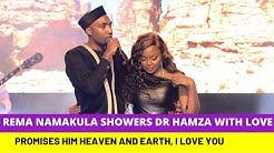 Rema Namakula alaze Dr Hamza Love Ku Concert Live on stage