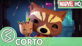 El Rescate de Groot   Marvel Funko