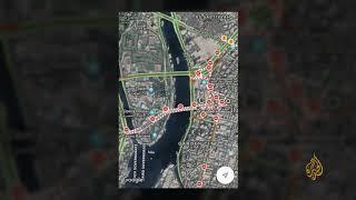 🇪🇬إغلاق الشوارع والطرقات والجسور المؤدية لميدان التحرير