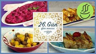 Ramazan 26. Gün İftar Menüsü: Sulu Köfte - Çıtır Börek - Pancar Salatası - Tül Perde Tatlısı