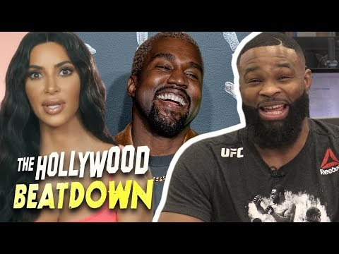 Tyron Woodley Reacts To Kim Kardashian Defending Kanye's Slavery Comments | The Hollywood Beatdown Mp3