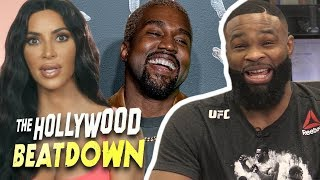 Tyron Woodley Reacts To Kim Kardashian Defending Kanye's Slavery Comments | The Hollywood Beatdown