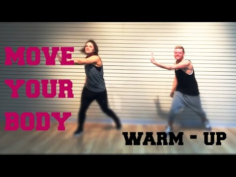 Move Your Body  SIA  WARMUP  Cardio Dance  Melissa Ray Fitness