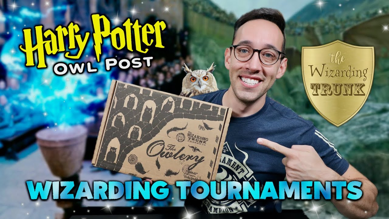 Download THE WIZARDING TRUNK | Wizarding Tournaments | Harry Potter Unboxing