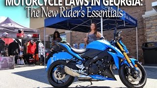 Georgia Motorcycle Laws: New Rider's Guide