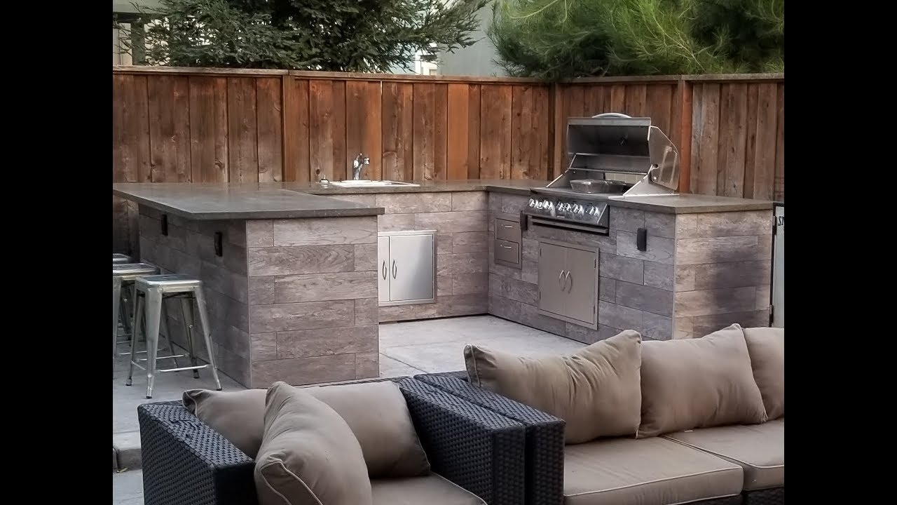 Diy Bbq Island Finally Completed 7